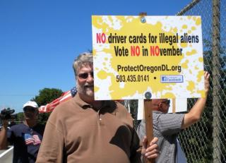 Vote NO on driver cards for illegal aliens - NO in NOvember