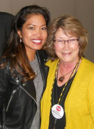 OFIR President, Cynthia Kendoll with author and guest speaker Michelle Malkin.