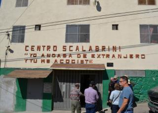 OUr group visited this mission in Tijuana. The mission feeds and houses deportees and migrants.