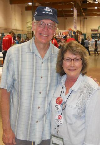 Our next Governor, Bud Pierce, dropped by to say hello while visiting the Oregon State Fair.