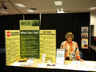 OFIR hosts a vendor booth in the exhibit hall at the Dorchester Conference