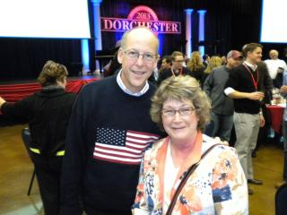 Congressman Greg Walden attend sthe Dorchester Conference. OFIR President and Congressman Walden discussed the possibility of a national amnesty bill.