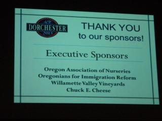 OFIR is an Executive sponsor of the Dorchester Conference