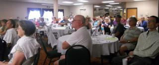 A packed house on a hot August afternoon.  OFIR has the best members!