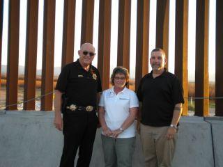 Oregon sheriff's attend border school